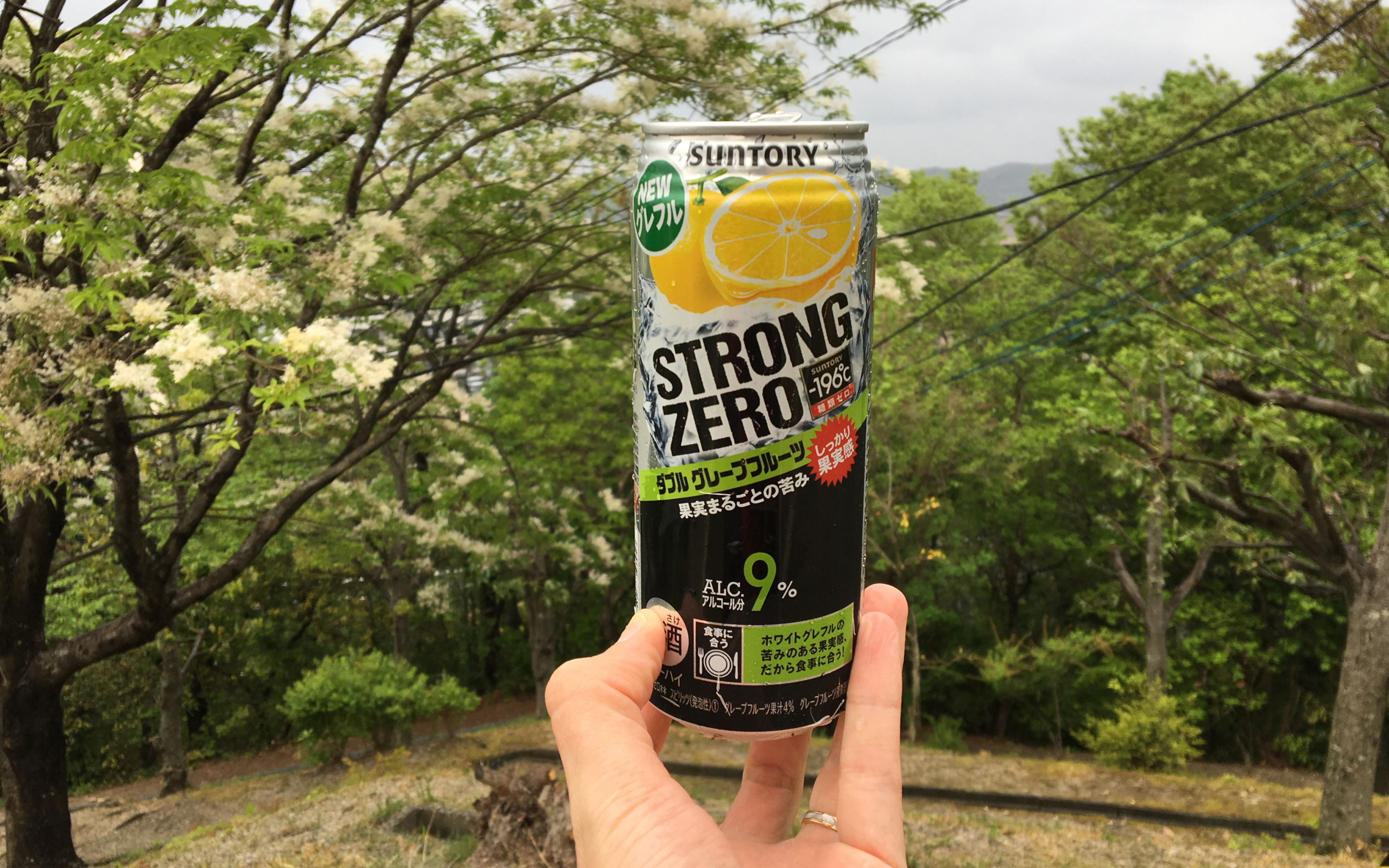 Suntory Strong Zero — ダブルグレープフルーツ