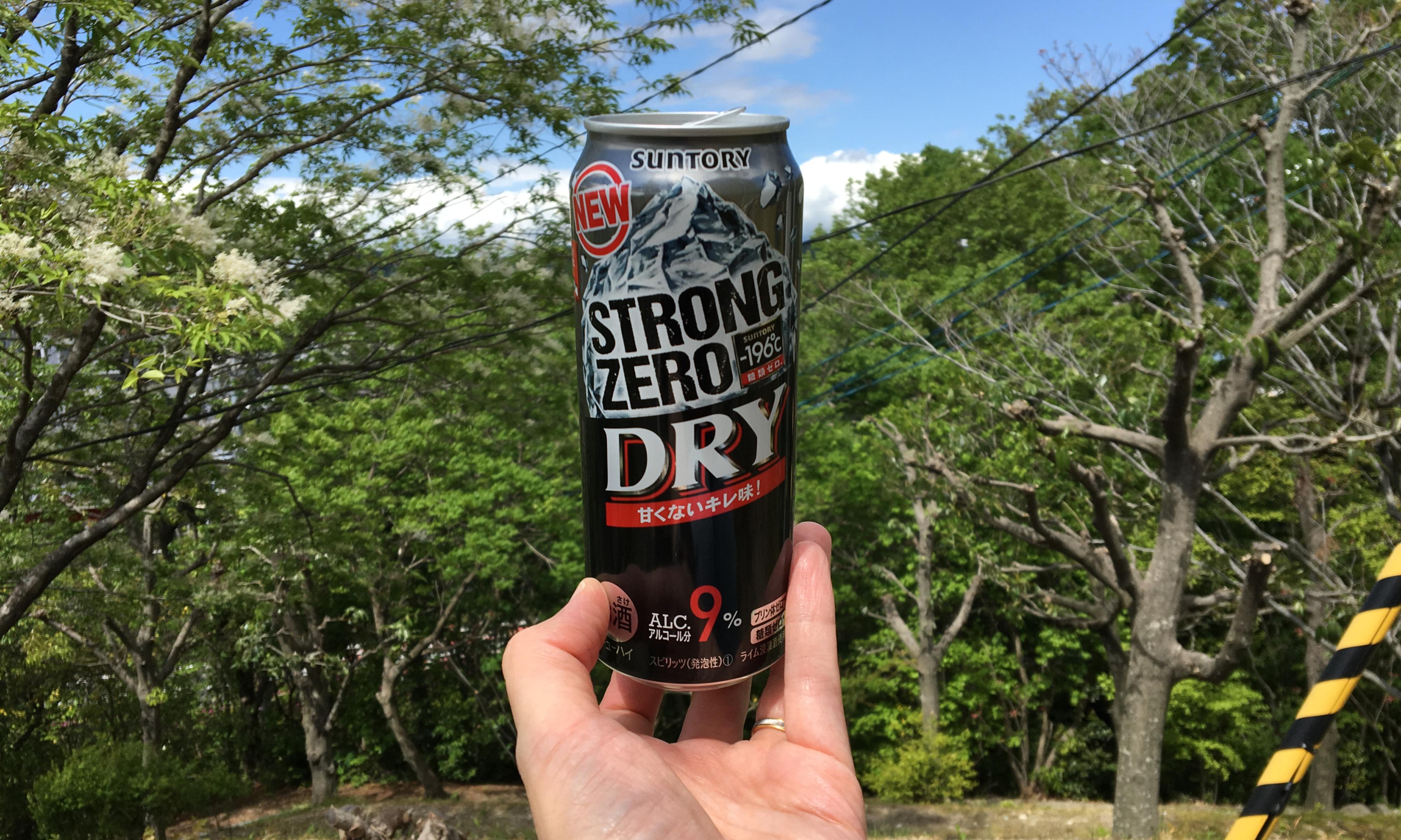 Suntory Strong Zero Dry